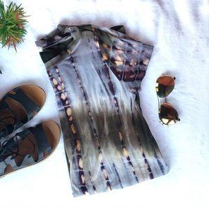 Necessary clothing t shirt dress tie dye